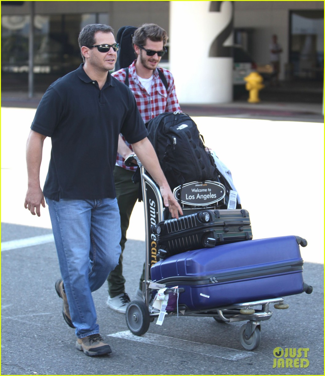 andrew garfield from london to lax 022731632