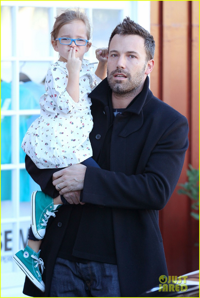 jennifer garner ben affleck brentwood breakfast with seraphina 072744858