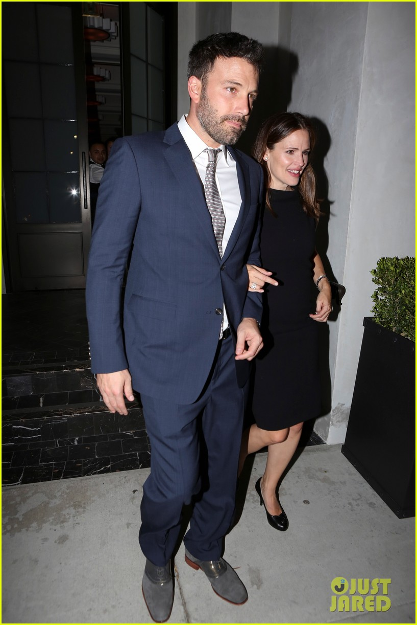 jennifer garner ben affleck fundraiser at spago 012745322