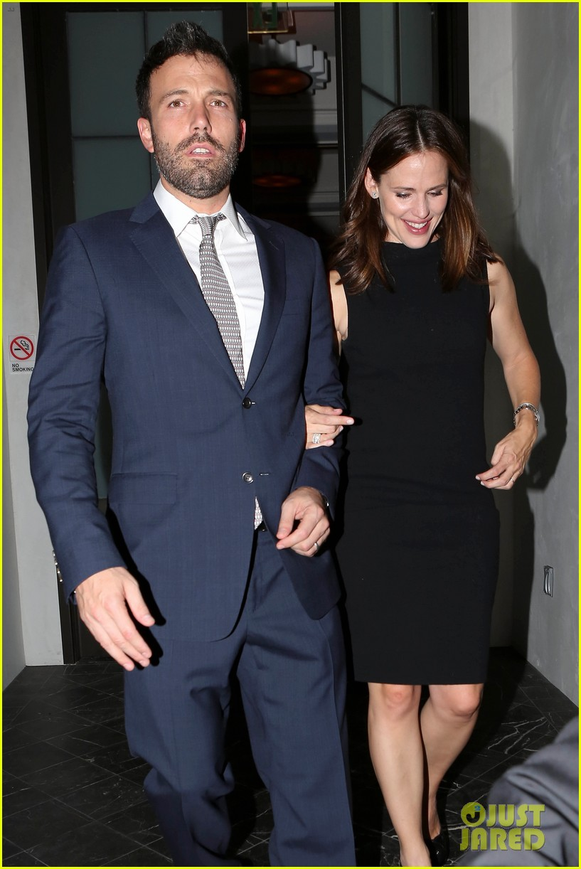 jennifer garner ben affleck fundraiser at spago 142745335