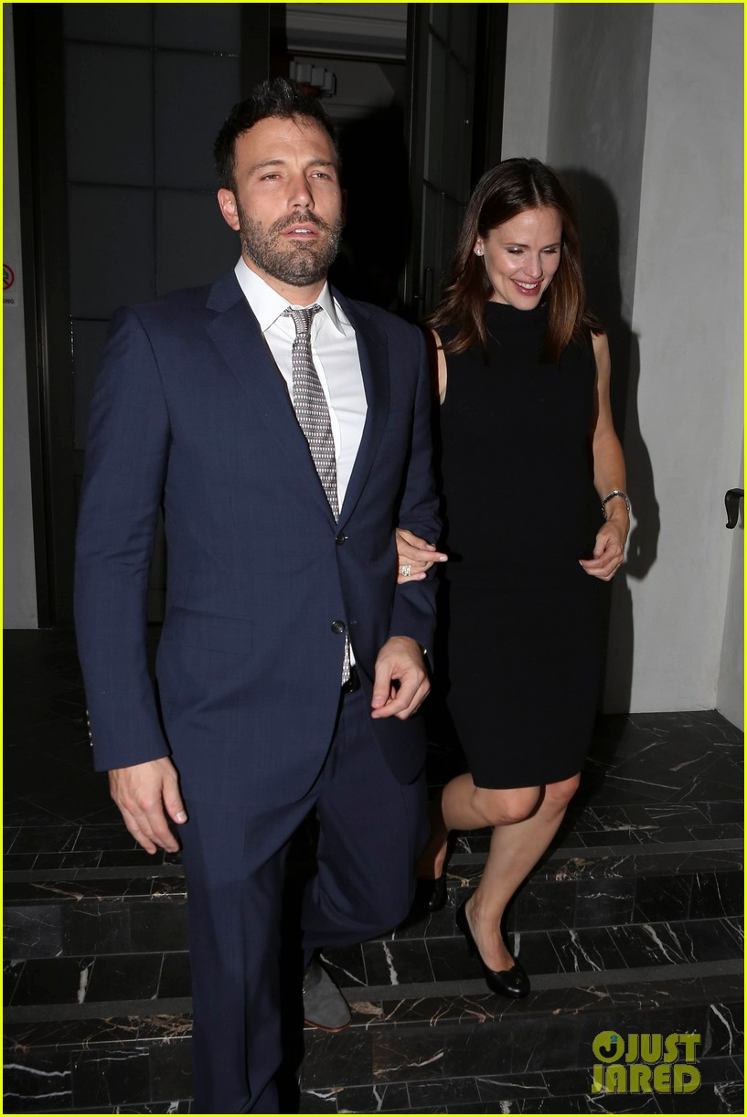 jennifer garner ben affleck fundraiser at spago 162745337