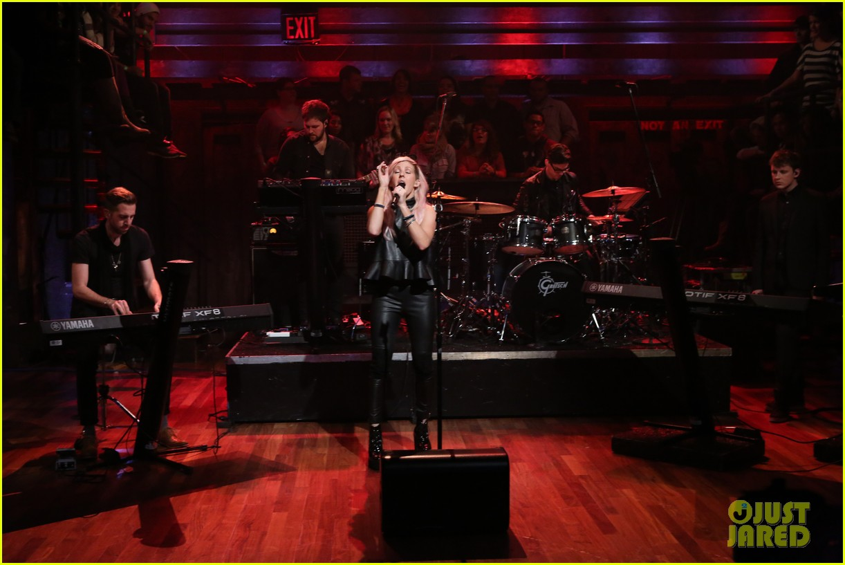 ellie goulding anything could happen live on jimmy fallon 012736453