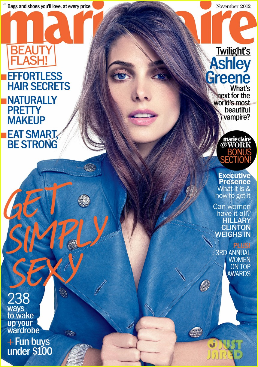ashley greene covers marie claire november 2012 022738538