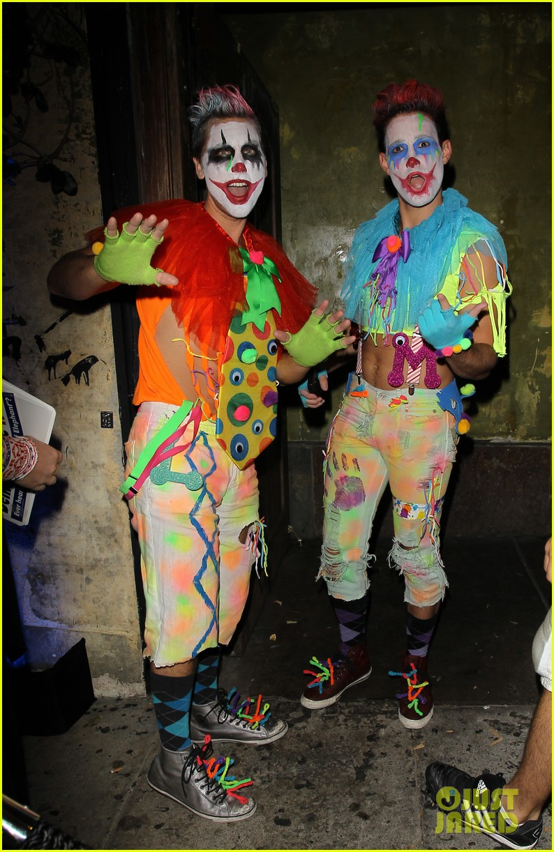 shenae grimes josh beech matthew morrison halloween party 05