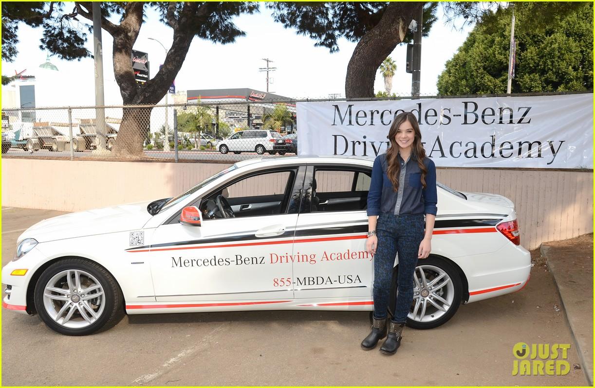 hailee steinfeld national teen driver safety week kick off 232738763