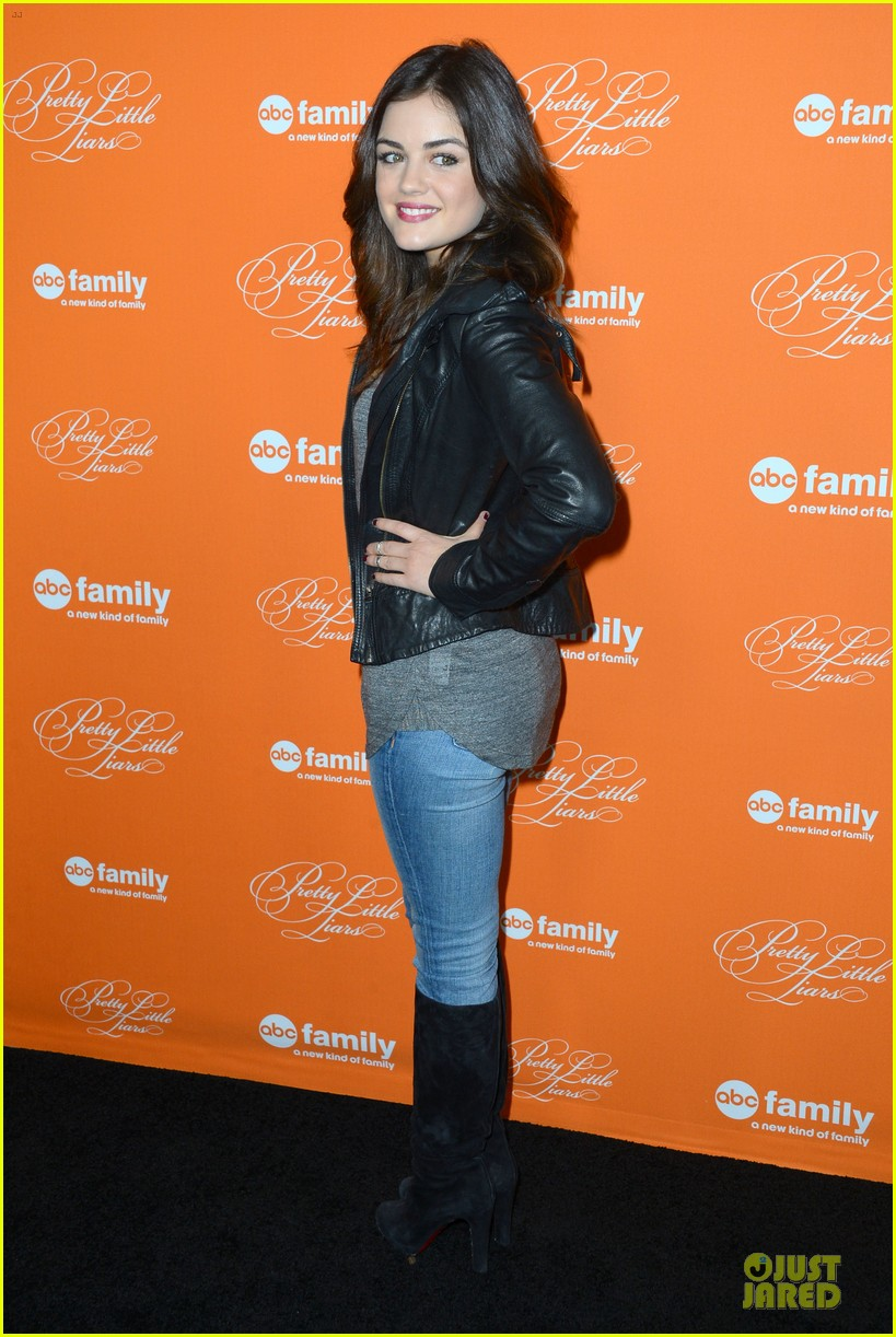 lucy hale keegan allen pretty little liars halloween episode screening 012739540