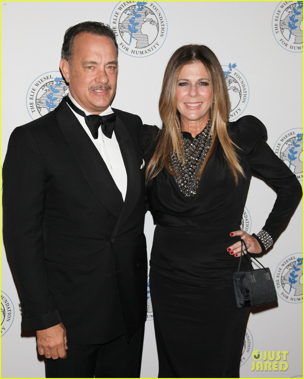 tom hanks arts for humanity gala with elie wiesel 032740161