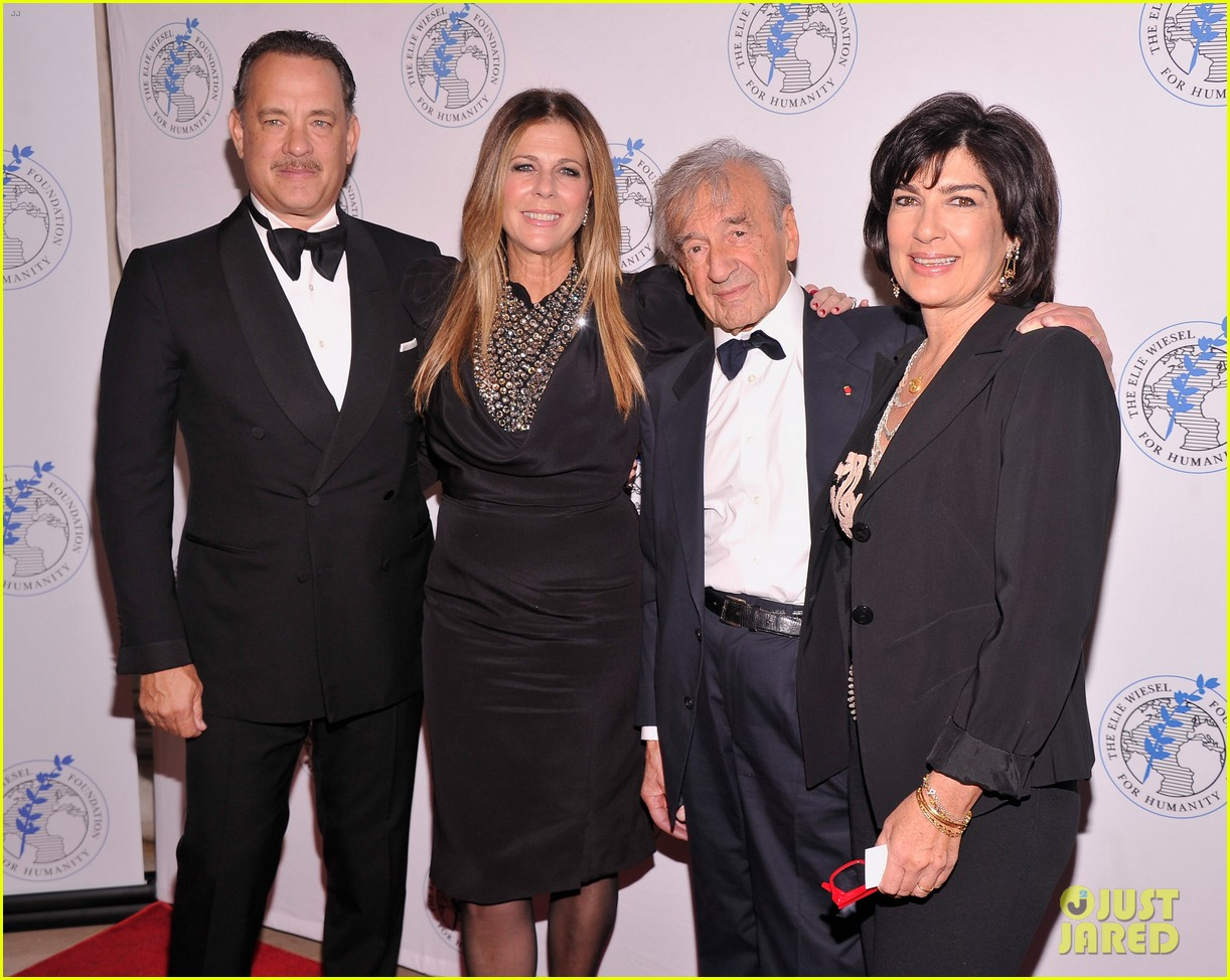 tom hanks arts for humanity gala with elie wiesel 062740164