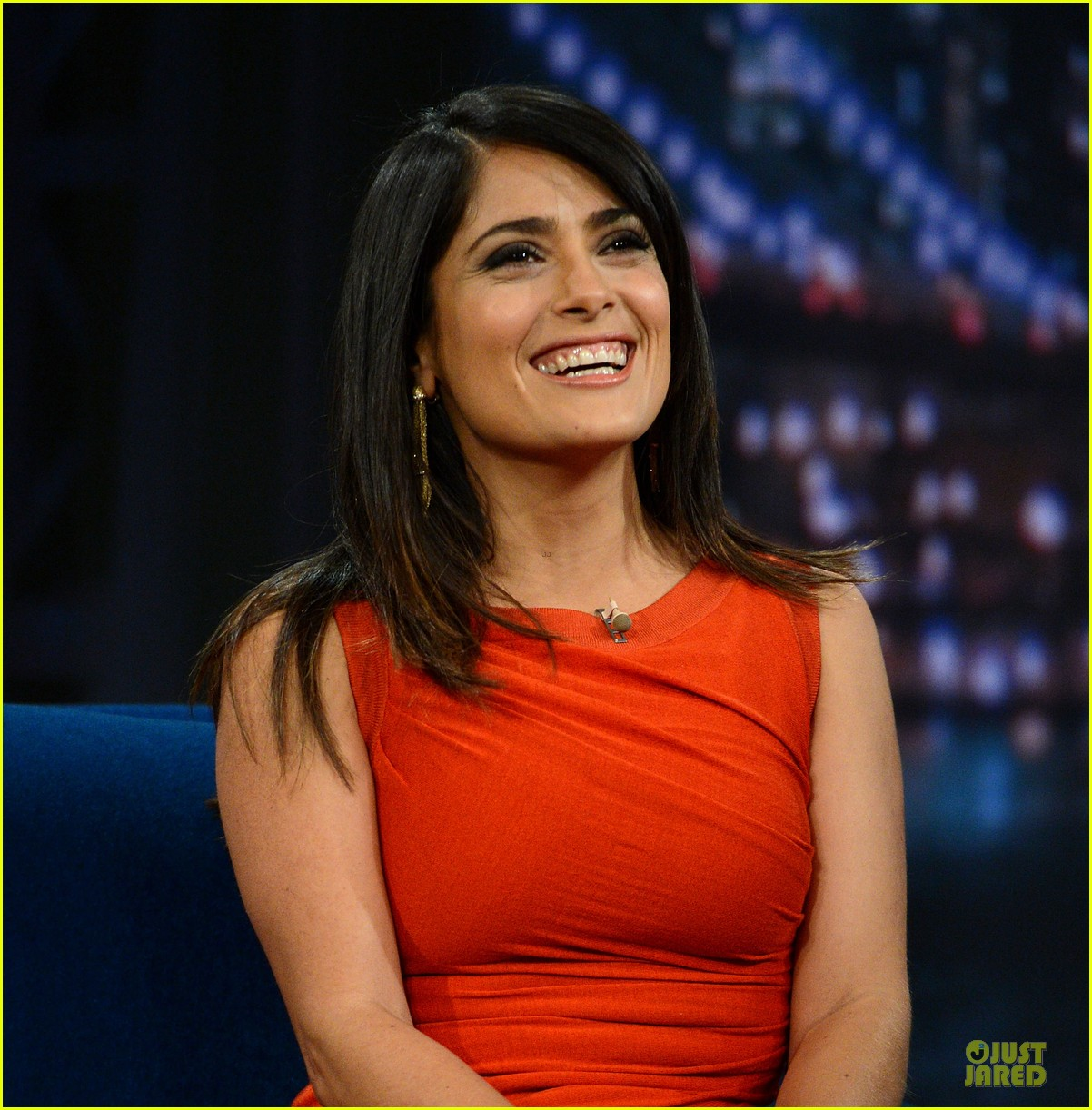salma hayek late night with jimmy fallon appearance 02