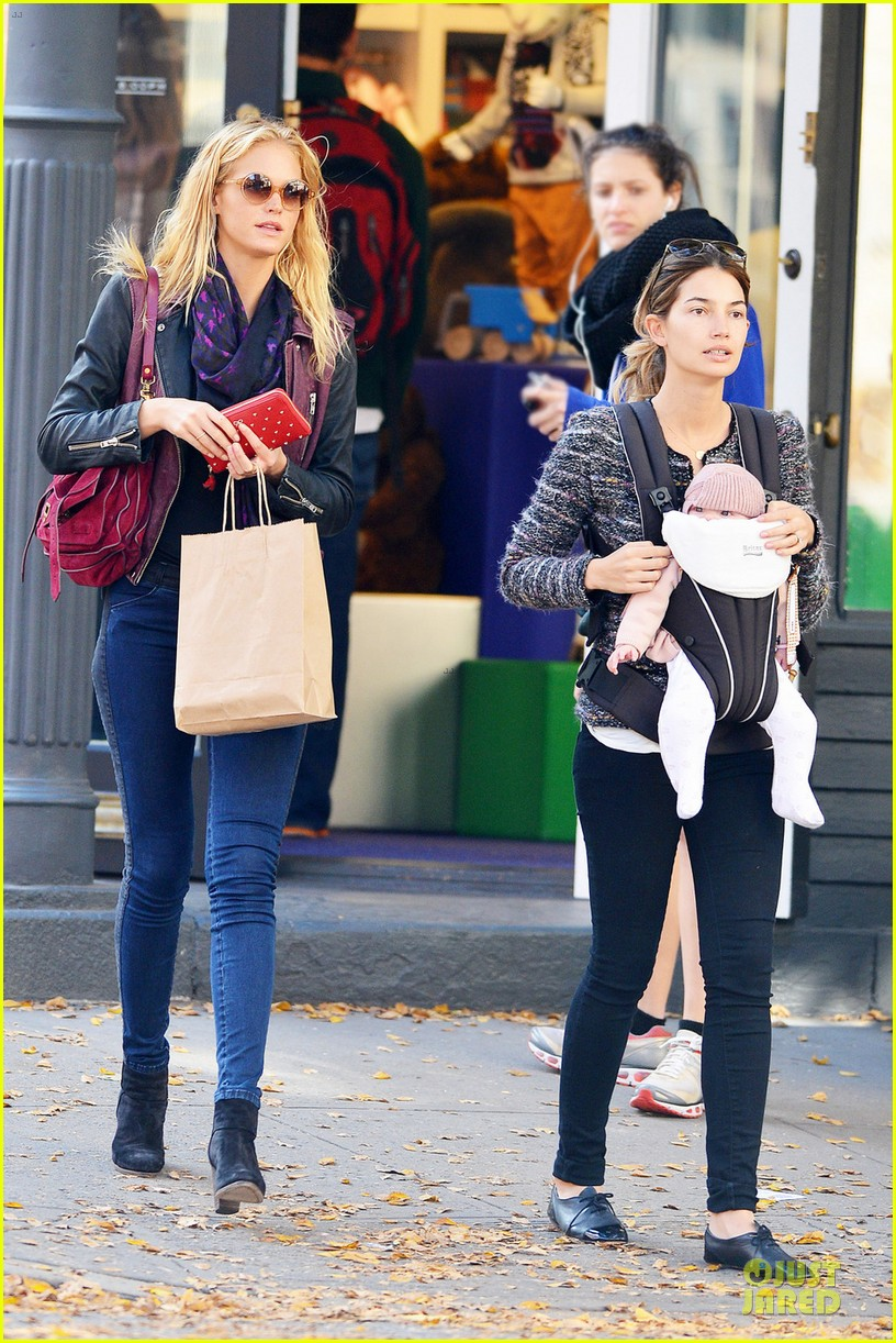 erin heatherton lily aldridge daughter dixie is godchild 012742350