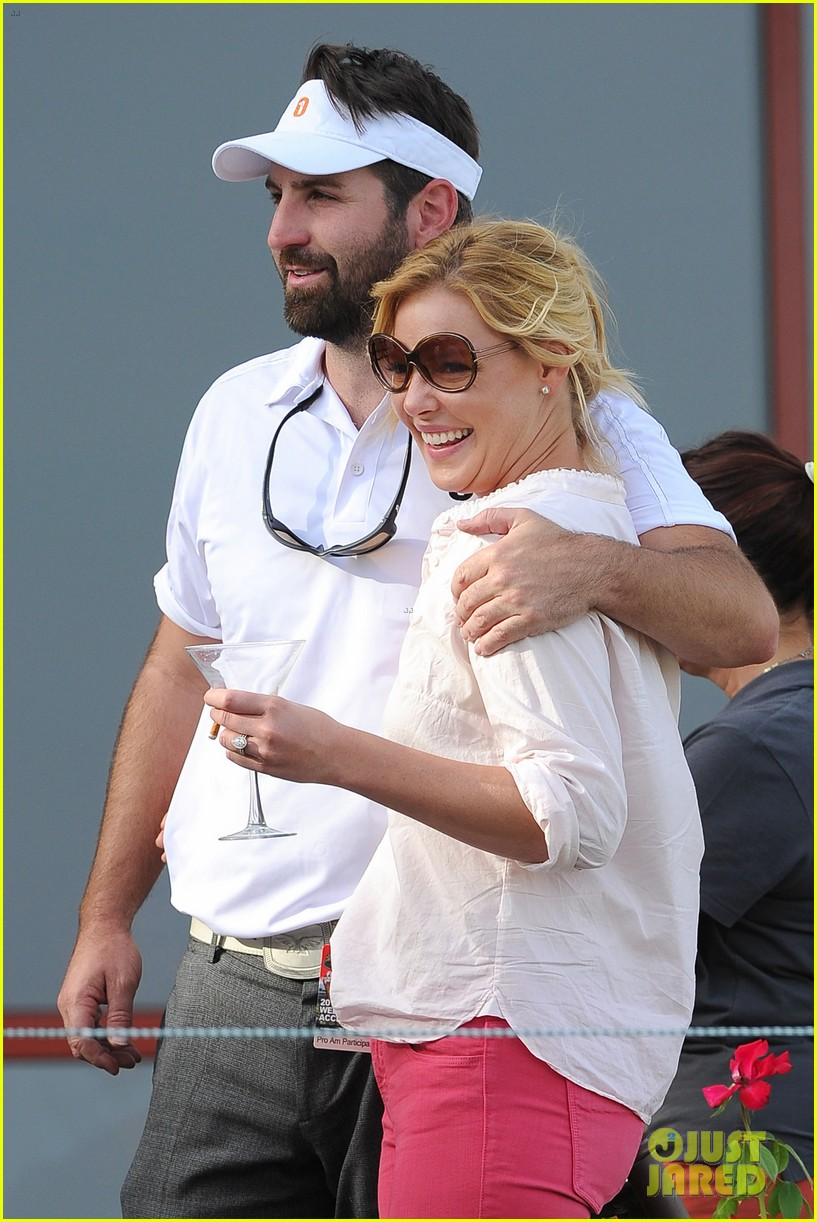 katherine heigl charity golf tournament with josh kelley 042733161