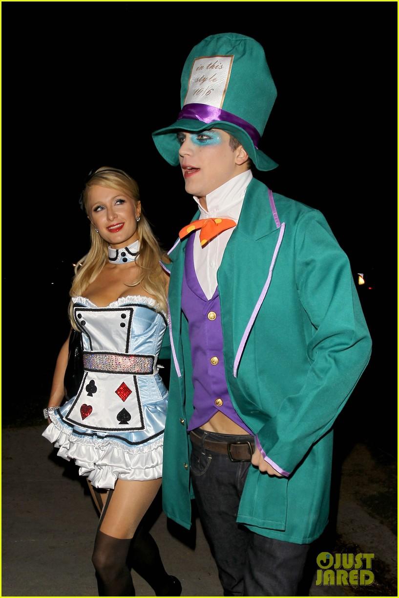 paris hilton river vilperi halloween party pair 022746860