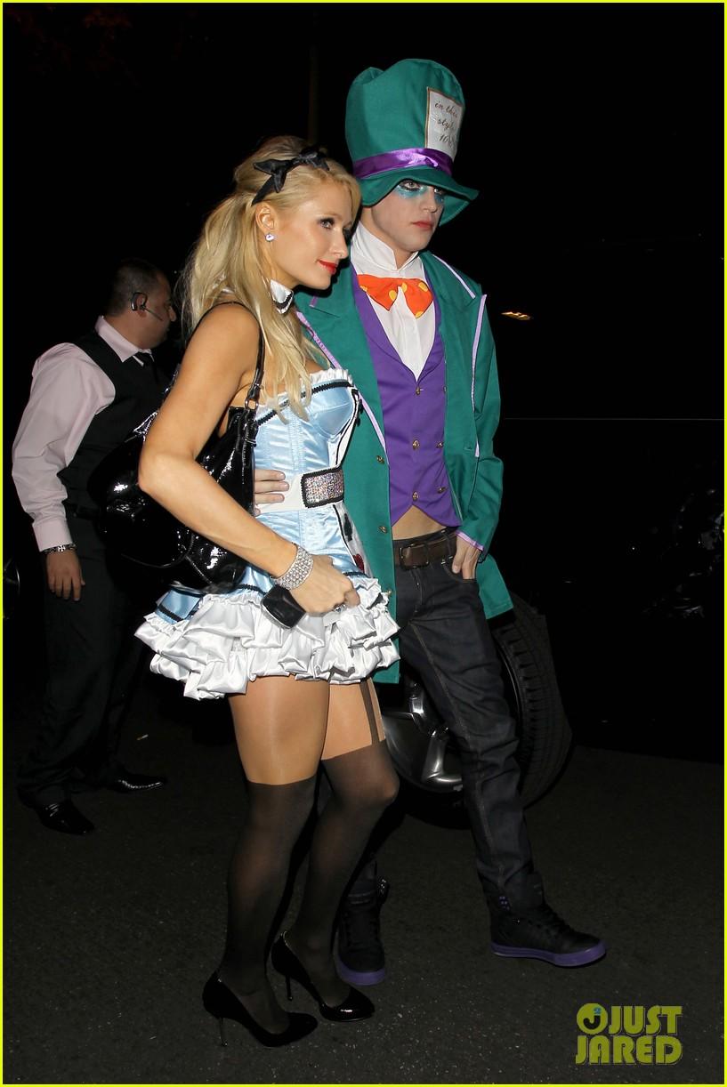 paris hilton river vilperi halloween party pair 102746868