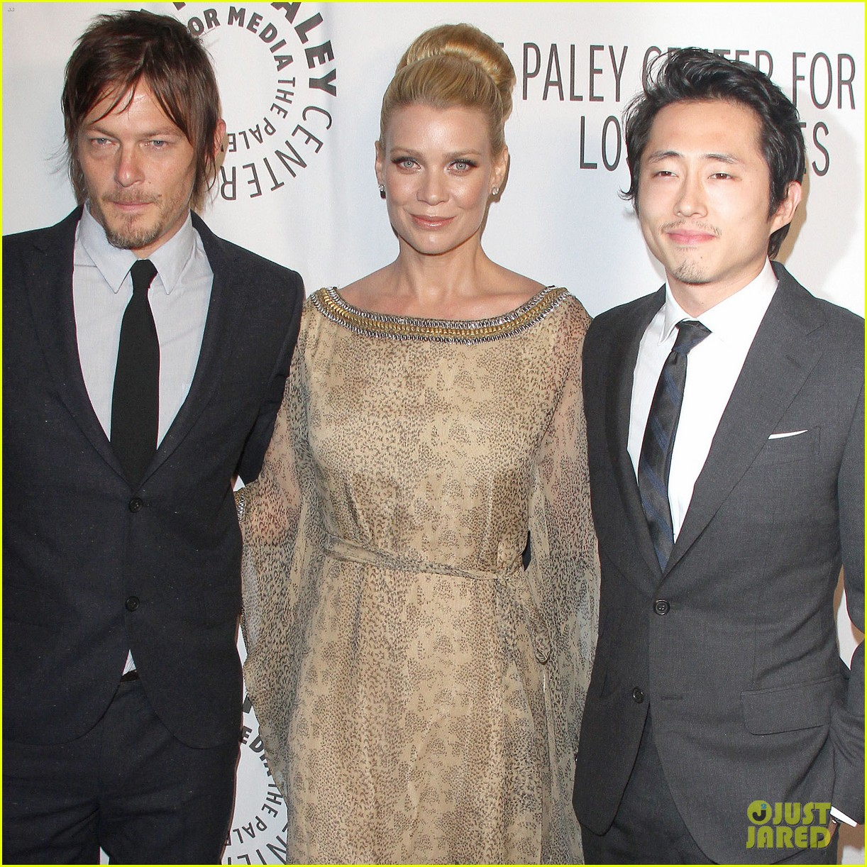 laurie holden norman reedus paley center amc benefit 102743330