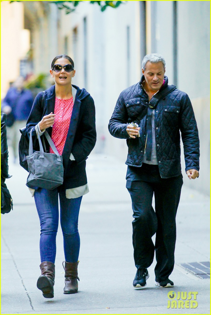 katie holmes early morning stroll with guy pal 012736516