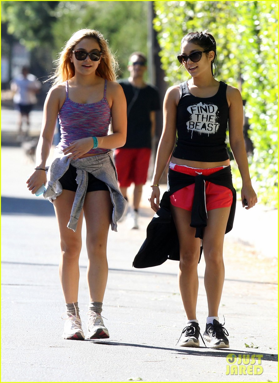 vanessa hudgens hiking with stella 112747916
