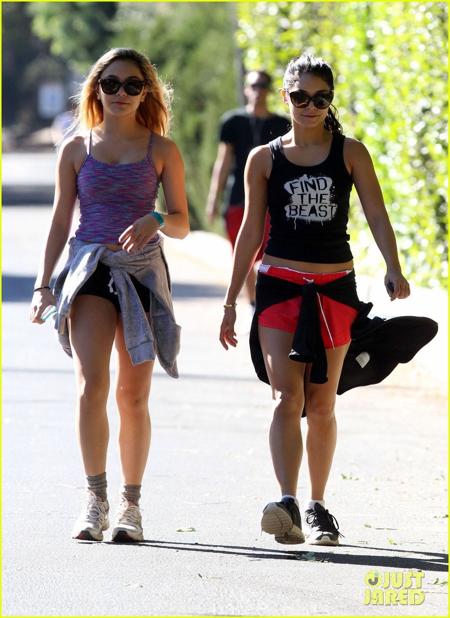 vanessa hudgens hiking with stella 122747917