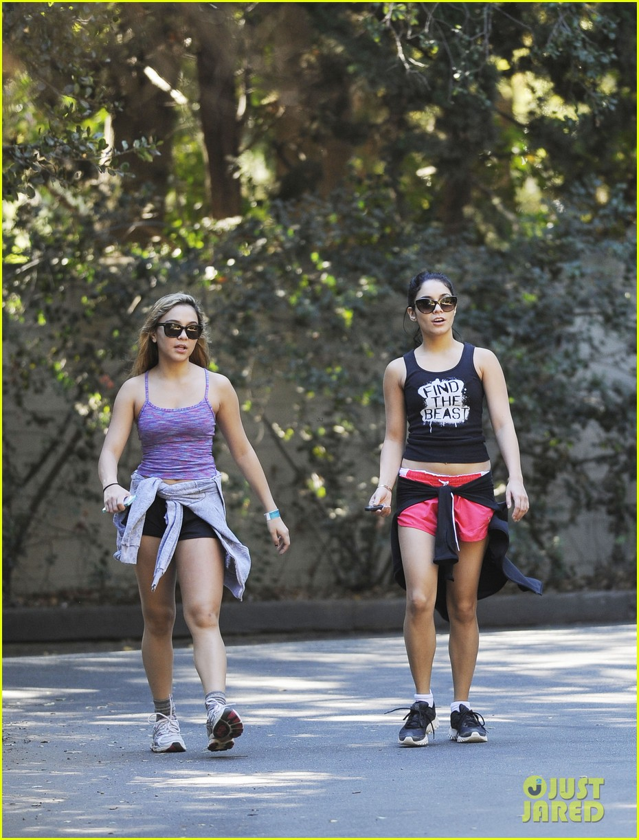 vanessa hudgens hiking with stella 202747925