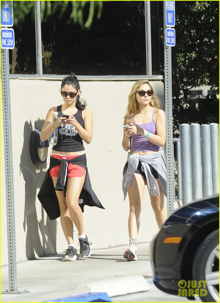 vanessa hudgens hiking with stella 252747930