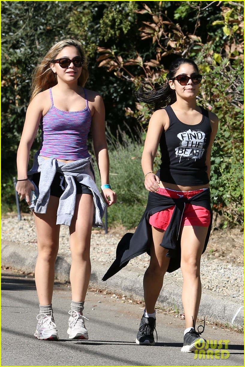 vanessa hudgens hiking with stella 272747932
