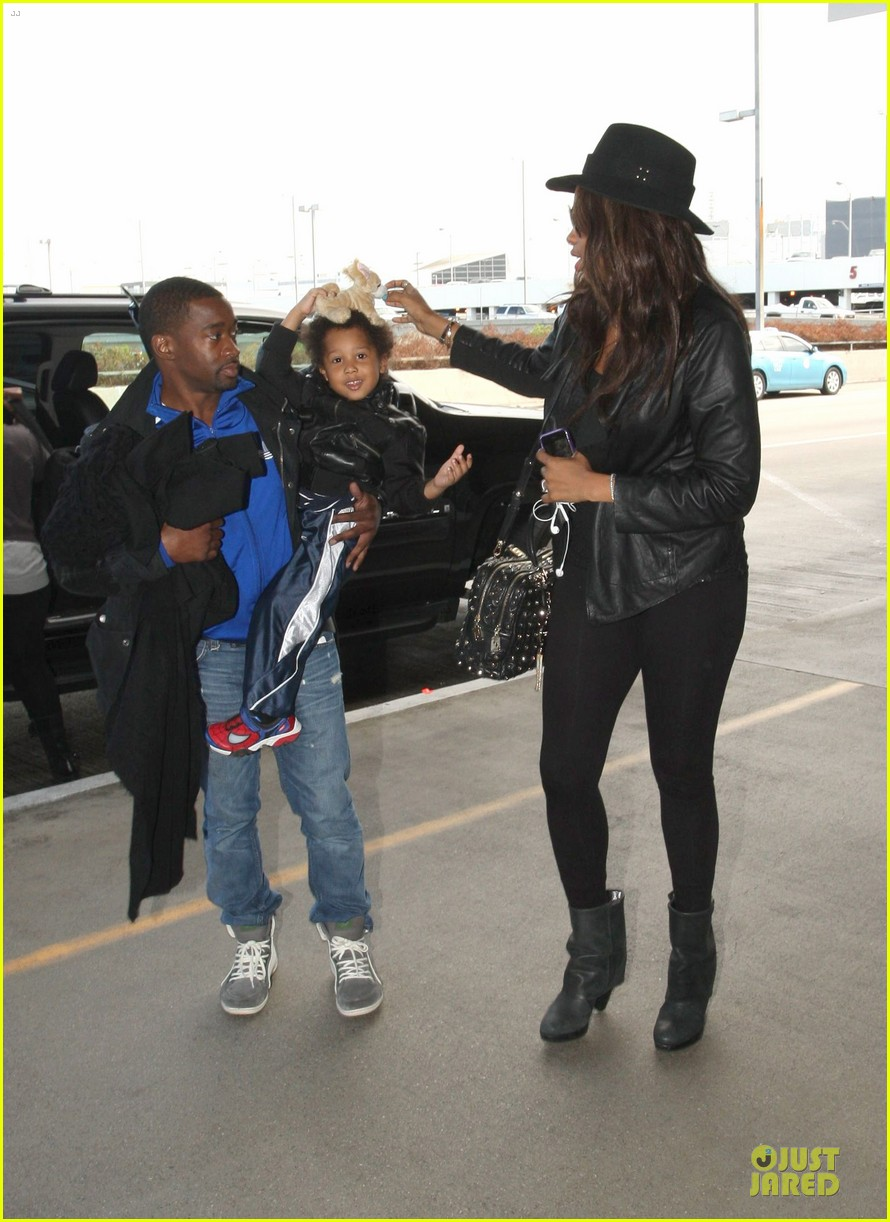 jennifer hudson lax departure with david 022737838