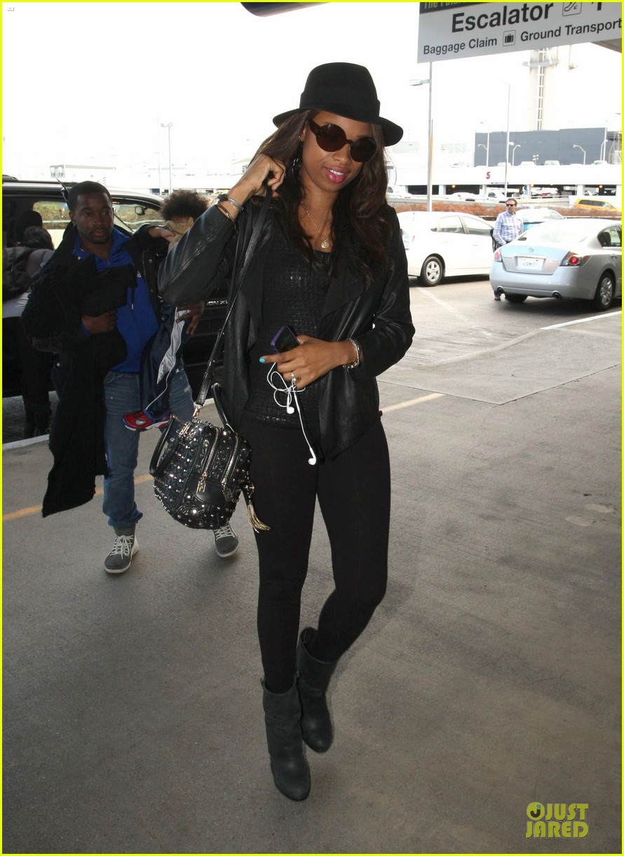 jennifer hudson lax departure with david 032737839