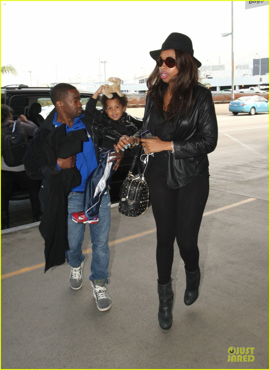 jennifer hudson lax departure with david 062737842