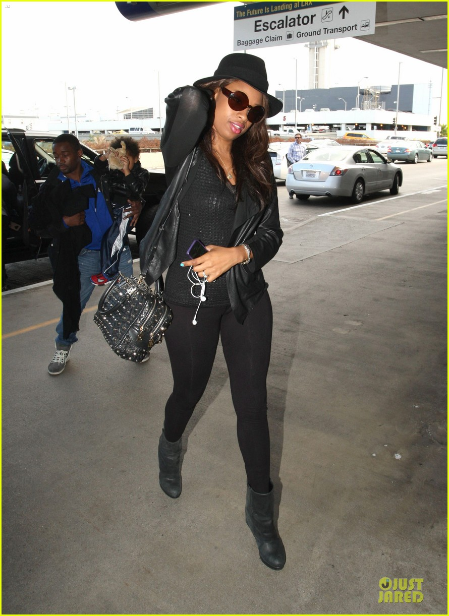 jennifer hudson lax departure with david 082737844