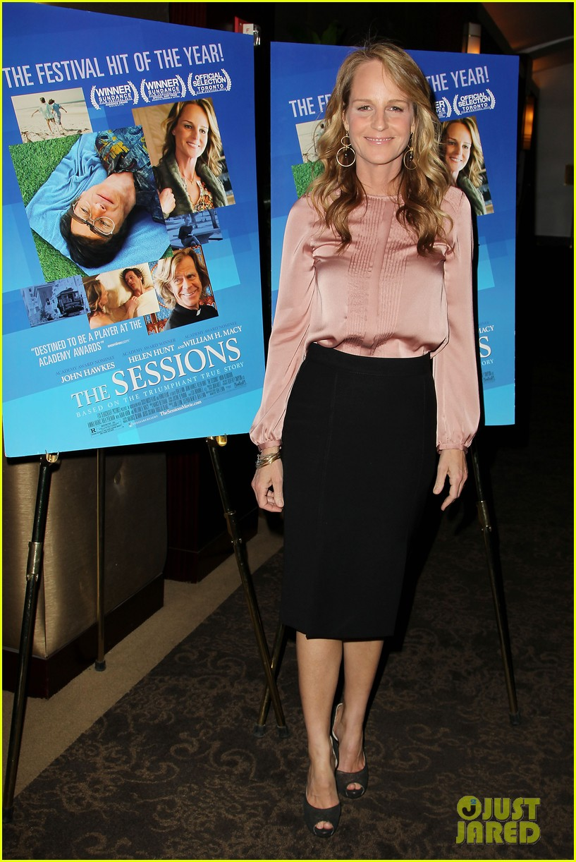 helen hunt the sessions screening new york city 042740954