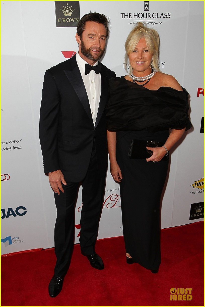 hugh jackman red ball with deborah lee furness 032741433