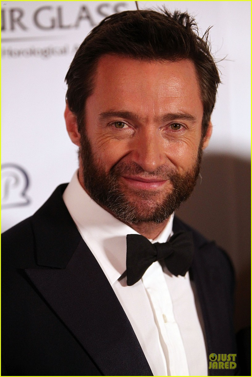 hugh jackman red ball with deborah lee furness 072741437