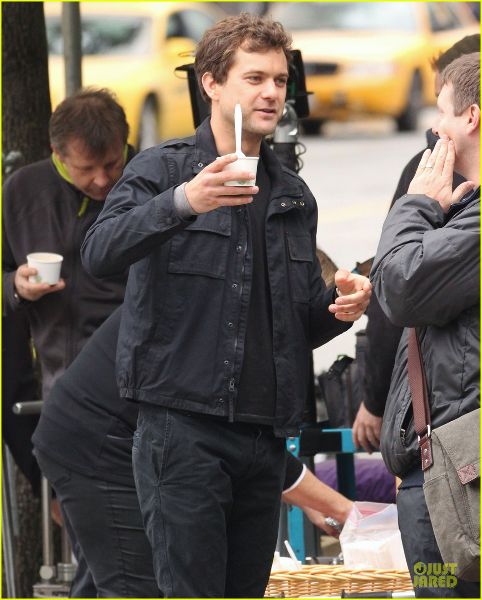joshua jackson streches on fringe set 20