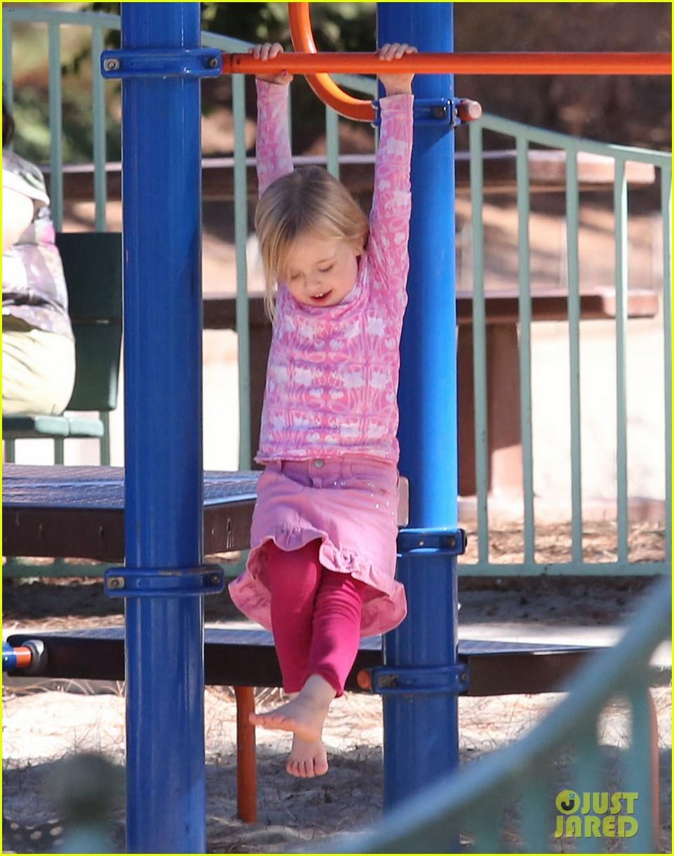 angelina jolie park playtime with knox vivienne 122746364