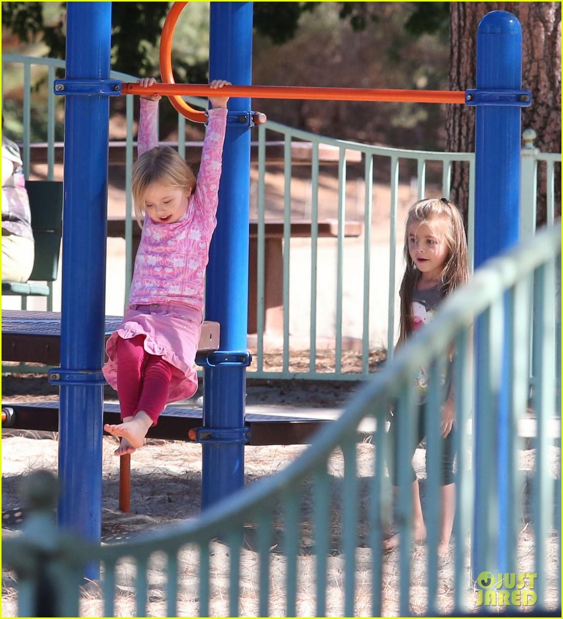 angelina jolie park playtime with knox vivienne 132746365