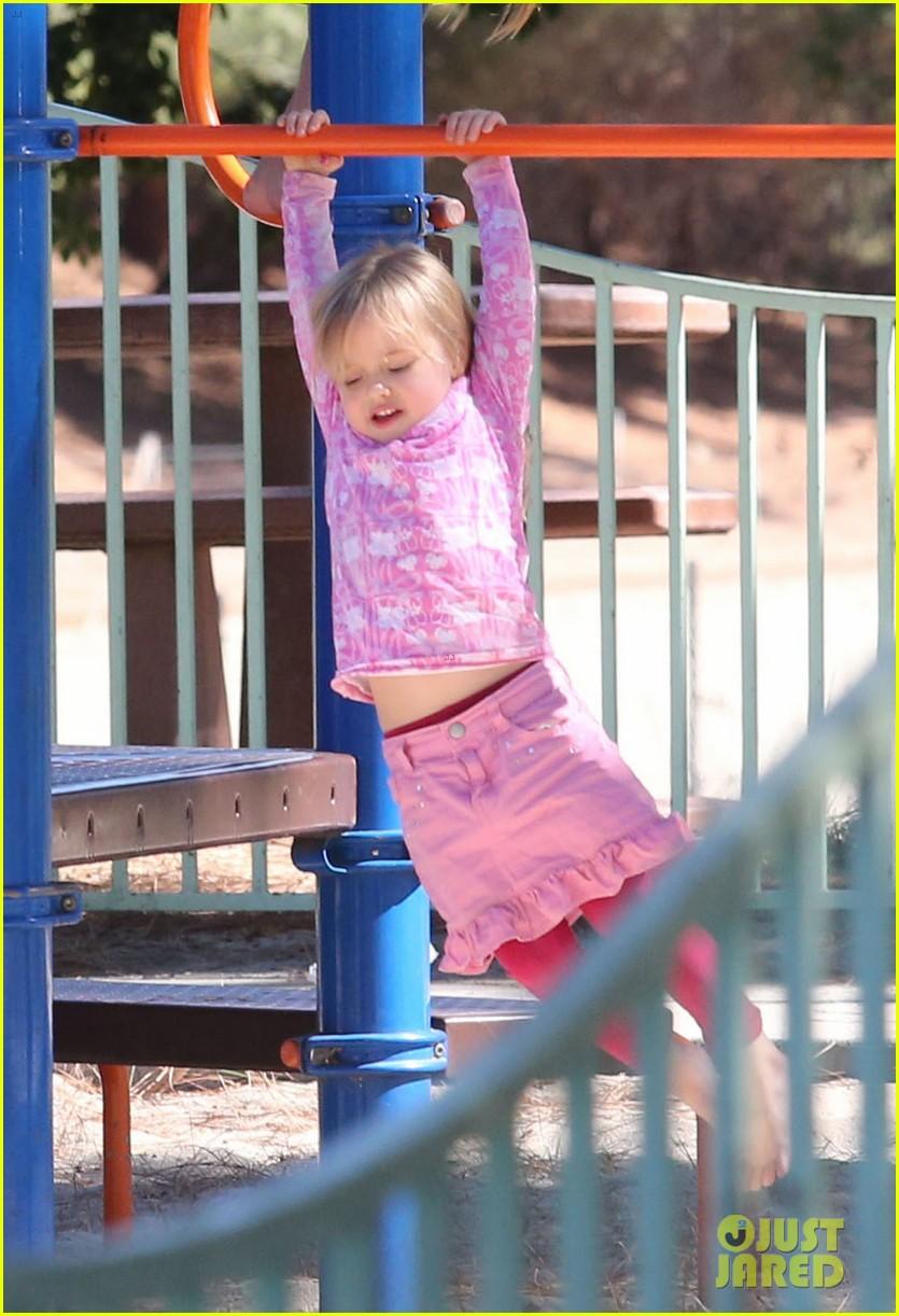 angelina jolie park playtime with knox vivienne 162746368