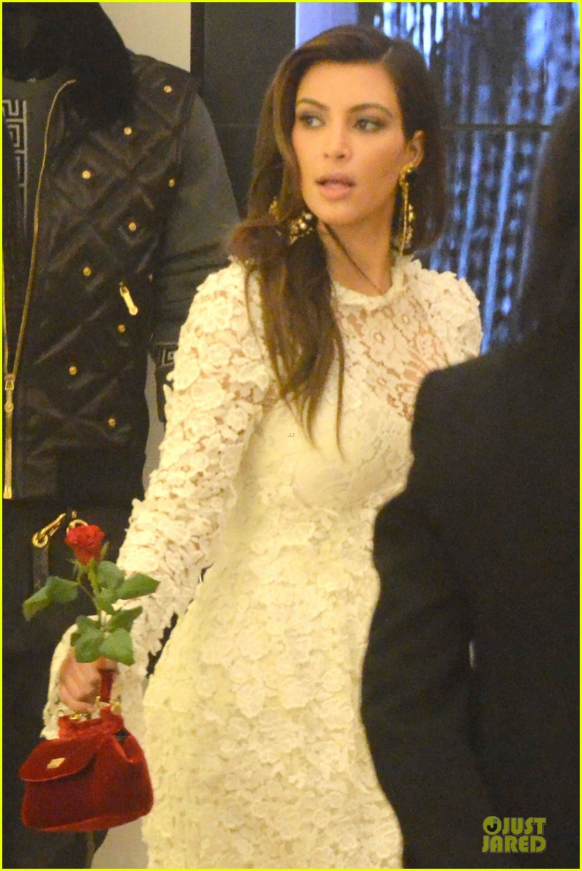 kanye west kim kardashian birthday dinner in venice 042742297