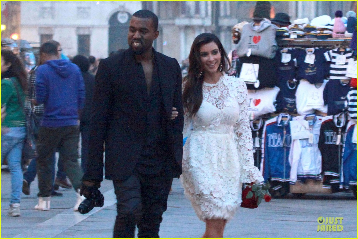 kanye west kim kardashian birthday dinner in venice 132742306