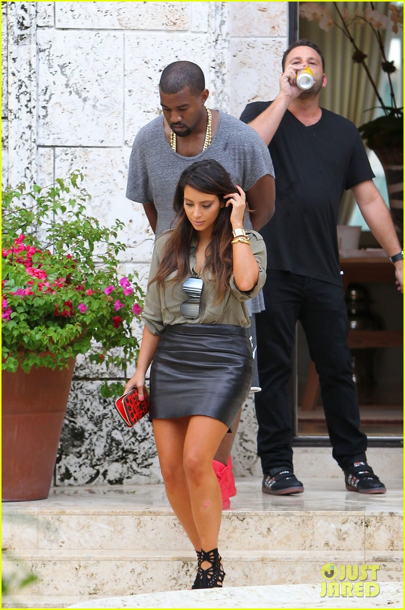 kim kardashian kanye west house hunting in miami 022735240