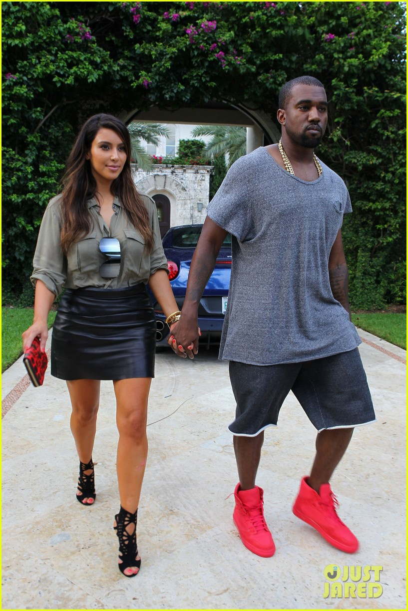 kim kardashian kanye west house hunting in miami 12