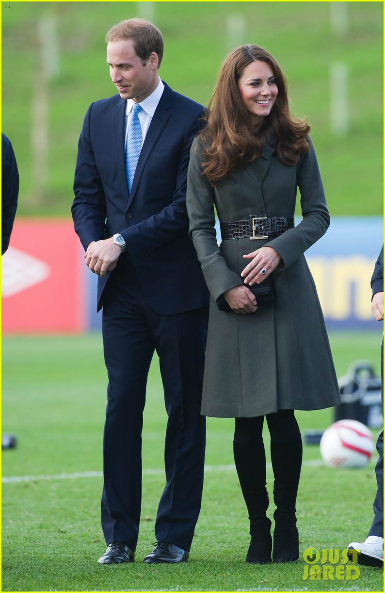 duchess kate prince william st georges park opening 12