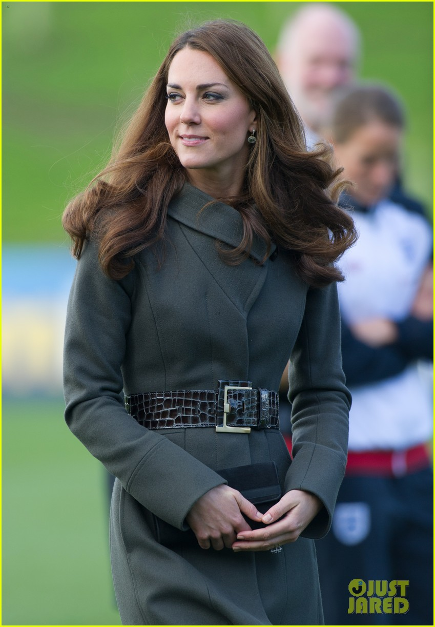 duchess kate prince william st georges park opening 162735341