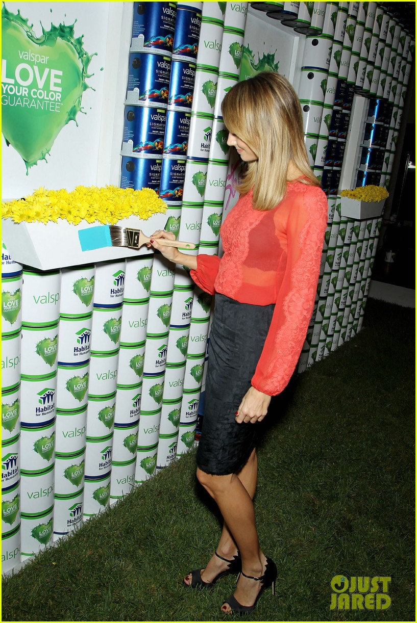 stacy keibler valspar love your color project 03