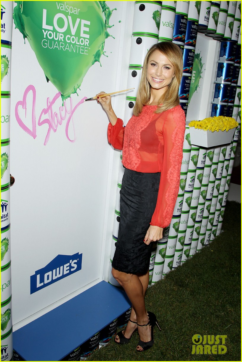 stacy keibler valspar love your color project 142744141