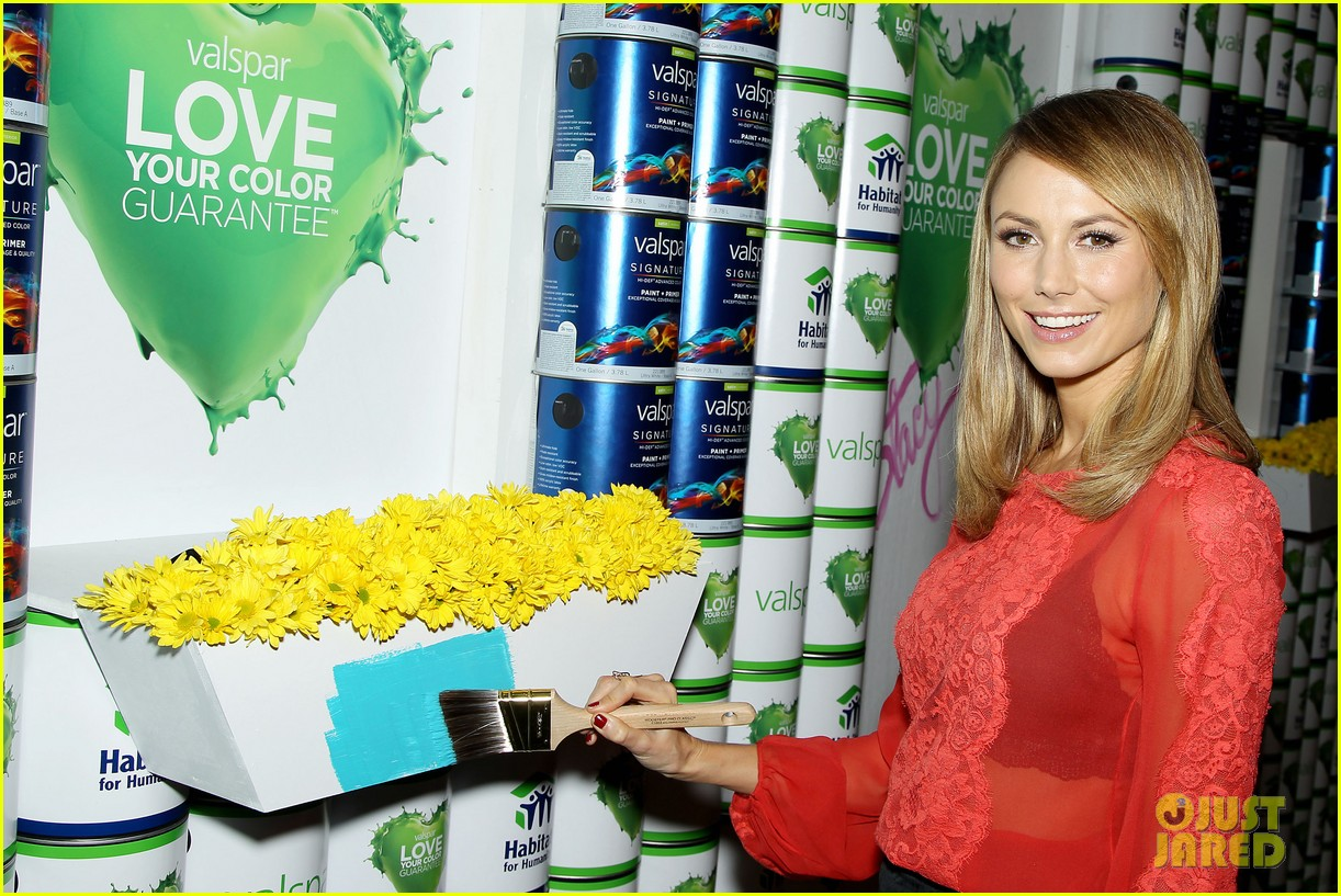 stacy keibler valspar love your color project 152744142