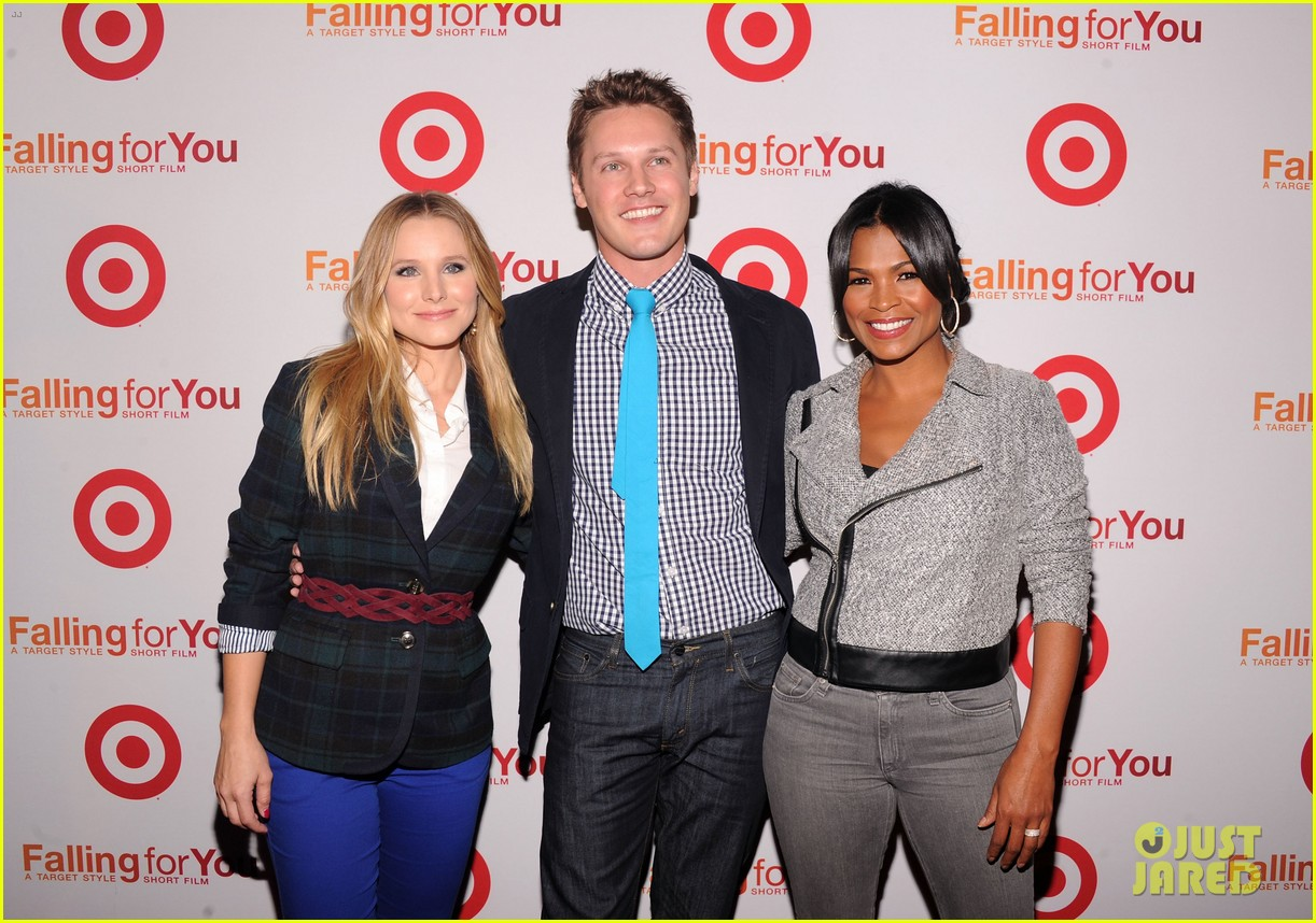 anna kendrick kristen bell target falling for you event 08