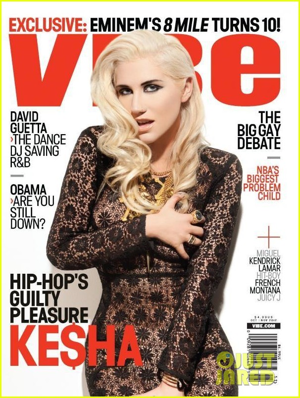 kesha covers vibe november 2012 012736530