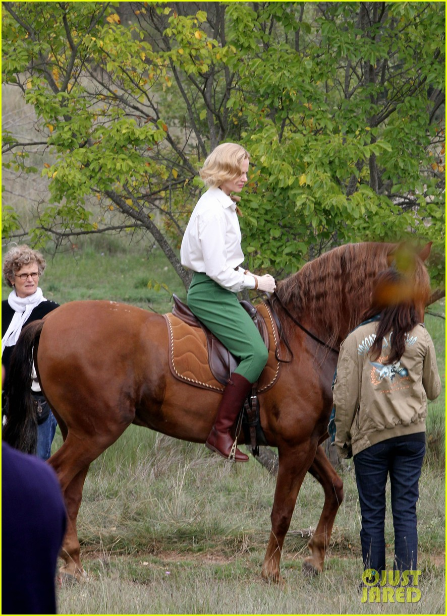 nicole kidman horseback riding for grace kelly 092737086