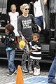 heidi klum sunday fun with  the kids 12