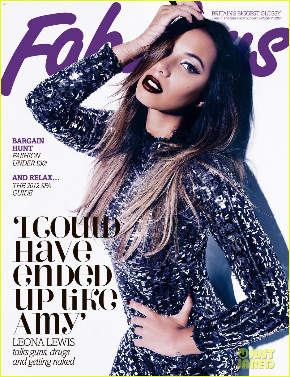 leona lewis covers fabulous uk magazine2733293