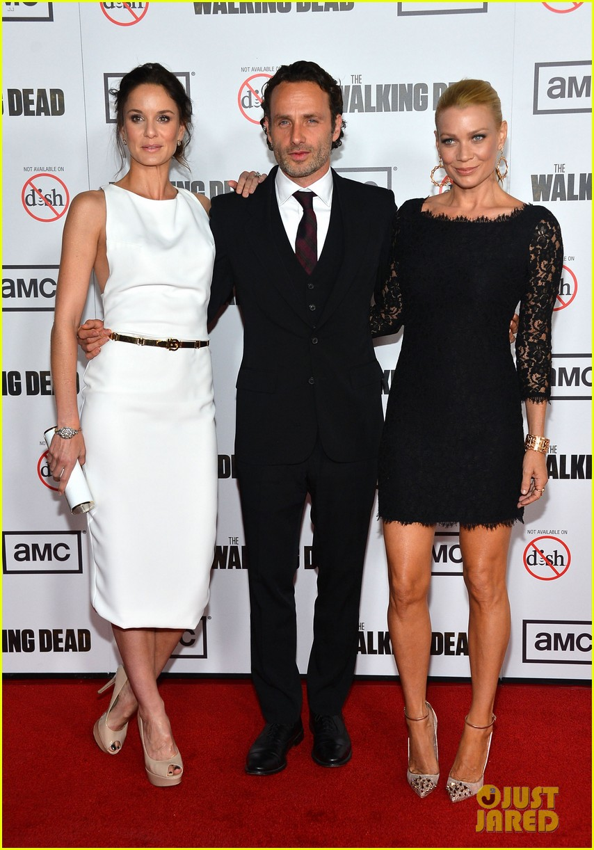 andrew lincoln sarah wayne callies walking dead season 3 premiere 03